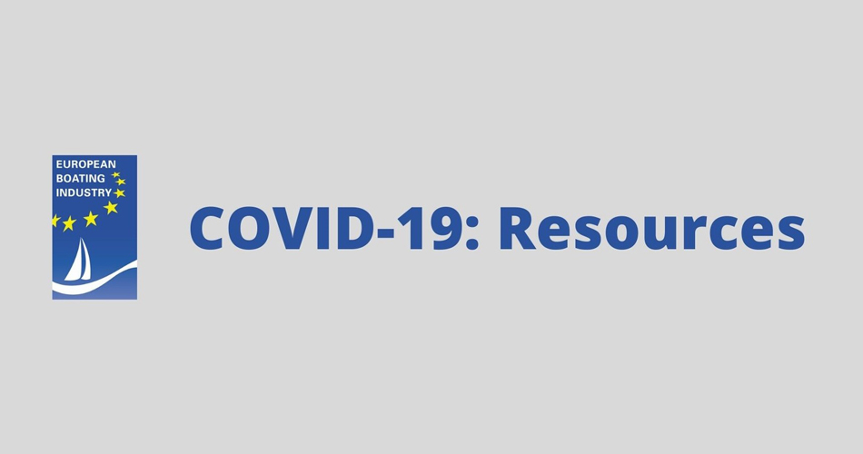 COVID - 19: Resources in the recreational boating industry from our expert partner EBI
